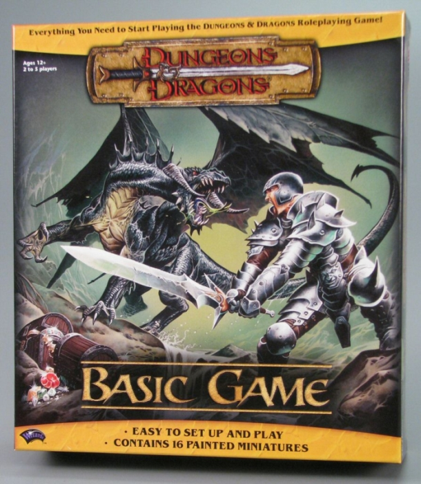 Gioco da tavolo dungeons dragons 3a edizione scatola base - Dungeon gioco da tavolo ...